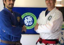 Felipe Leāo Teixeira e o Mestre Leāo Teixeira