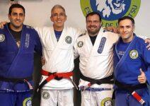 Com Michel Safi, Marcelo Pupo e Claudio Holanda