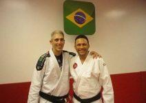Leão Teixeira e Renzo Gracie
