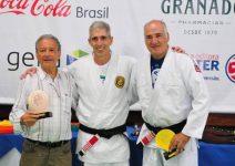 Robson Gracie, Leão Teixeira e Marcelo Itagiba